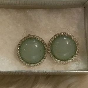Stud Earrings ☀️3/$15!🌴 Mint Green !